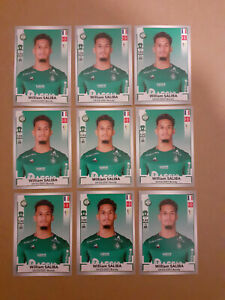 INVEST-LOT-OF-9-WILLIAM-SALIBA-ROOKIE-442-STICKER-ASSE-PANINI-FOOT-2019-20