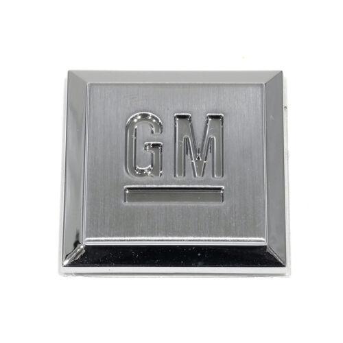 """OEM Genuine Fender GM Mark of Excellence Emblem Badge 1/"""" Chrome 15223484"""