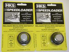 HKS 587-A Speedloader .38 Special .357 Magnum Black 7 Round 686 S&W 617 Taurus