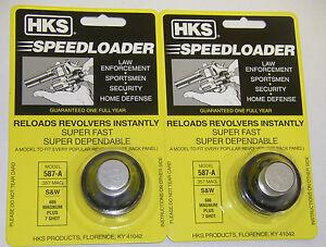 Image Is Loading 2 Pack HKS 587 A Speed Loader 357