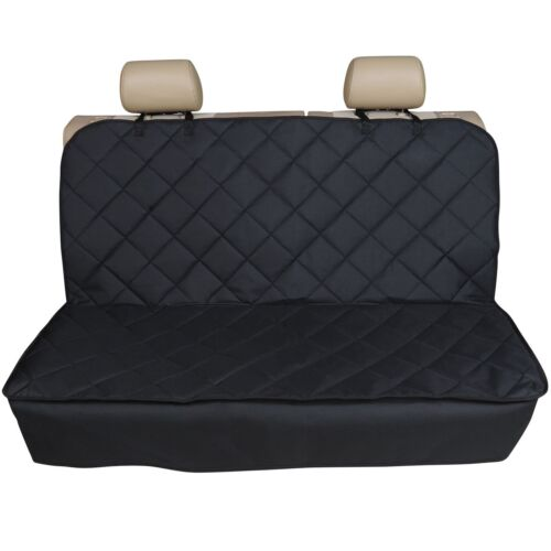 FOR VAUXHALL CORSA HATCHBACK 06-ON PREMIUM QUILTED PET HAMMOCK REAR SEAT COVER