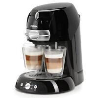 Petra Electric Km 42.17 Kaffeepadmaschine Schwarz 1,3liter 1600w Neu