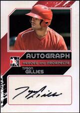ET 2011 ITG Heroes and Prospects Close Up Autographs Silver #TG2 Tyson Gillies