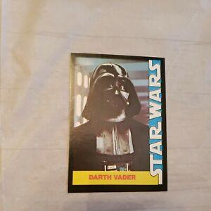 1977 Star Wars Wonder Bread Darth Vader Card #5