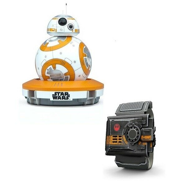 ROBOT INTERACTIVE STAR WARS SPHERO BB-8 + BRACELET FORCE BAND RECONDITIONED