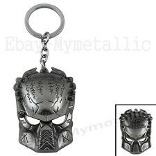 Movie AVP Alien vs Predator Predator Mask Metal Pendant Key Ring Chain 002