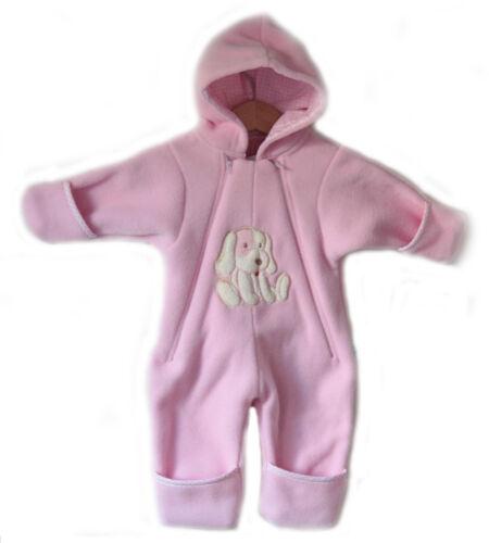 Bébé Garçon Fille Polaire Combinaison rompre avec capuche tenue pramsuit
