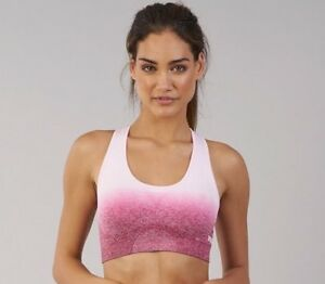 f2791832a14c2 Image is loading Womens-Gymshark-Seamless-Ombre-NWT-Sports-Bras-XS-