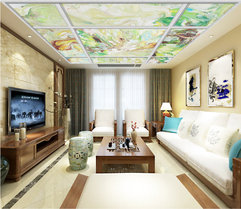 3D Abstract Painting 6 Ceiling Wall Paper Print Wall Indoor Wall Murals CA Carly