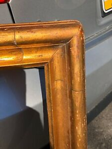 Newcomb-Macklin-Arts-and-Crafts-Picture-Frame-37x28-Original-Gold-leaf
