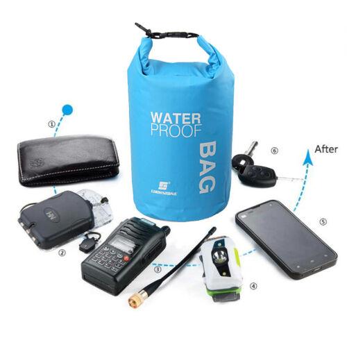 2L Waterproof Dry Bag Sack Pouch Boating Kayaking Camping Rafting Hiking Bag