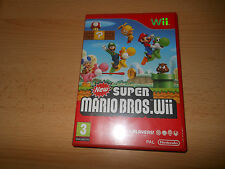 NEW SUPER MARIO BROS - Nintendo WII - UK PAL - NEW NOT  SEALED