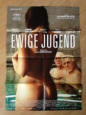 Filmposter * Kinoplakat * A1 * Ewige Jugend * 2015