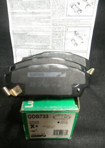 Genuine-Lucas-OE-Front-Brake-Pad-Set-for-Rover-800-Honda-Accord-1986-1991-GDB733