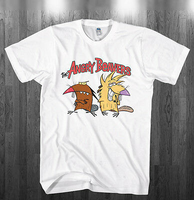 Angry Beavers Hoodie funny cartoon fan Sweatshirts Adult Kids sizes S-3XL