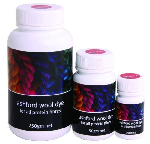 Ashford Wool Dye Rust x 10g ADR10