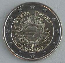 """2 Euro Finnland 2012 """"10 Jahre Euro"""" unz."""