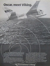 12/1981 PUB LOCKHEED S-3A VIKING US NAVY SUB HUNTER ASM OSCAR MISSILE AD