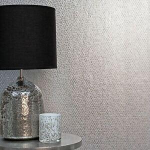 FD42485-Fine-Decor-Platine-Hexagonale-Texture-Papier-Peint-Argente-de-Luxe-Alu