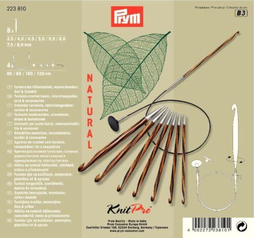 Häkelnadel Set 223810 Art Prym KnitPro Natural tunes