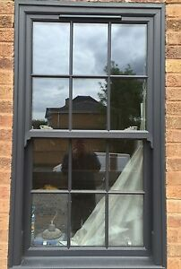 online store bd268 b4488 Details about UPVC Sliding Sash Windows Box Sash Double Glazed A Rated Any  Size One Price
