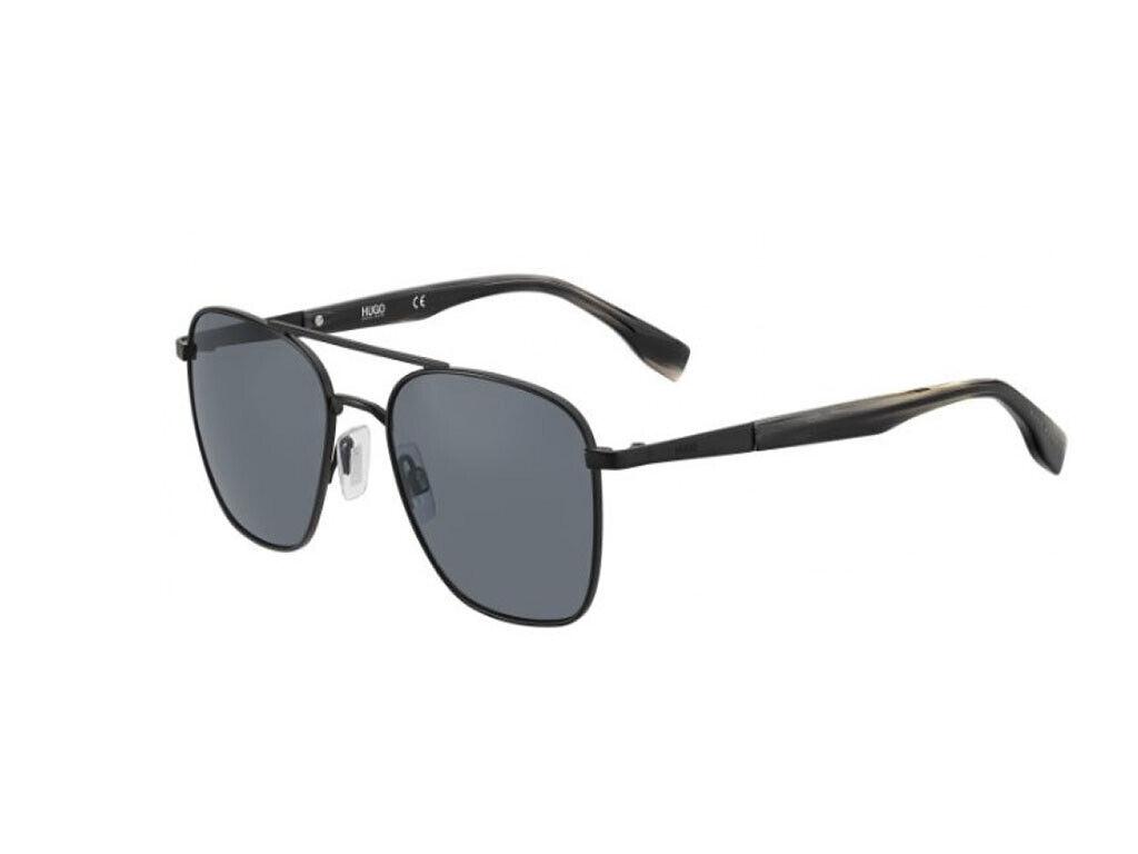 Sonnenbrille Hugo Boss HG HG HG 0330 s-Metall Matt-schwarz grau 003 IR   Exquisite (in) Verarbeitung  20d22c