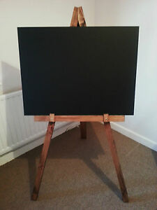 large wooden display chalkboard blackboard easel advertisment