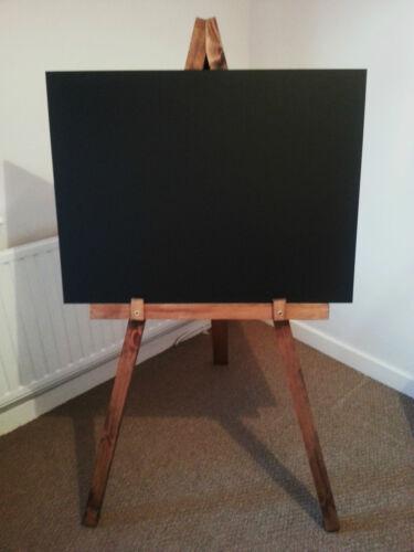 Advertisment Large Wooden Display Chalkboard Blackboard Easel Made in UK