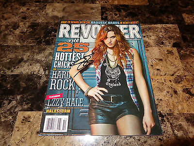 Lzzy Hale Authentic SIGNED Revolver Magazine Mint Halestorm + Candid Photo Lizzy