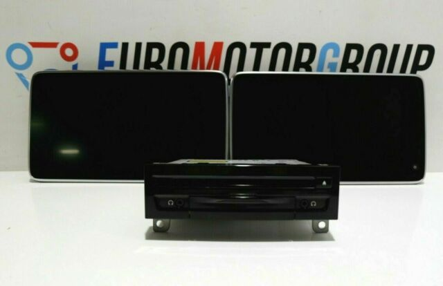 Bmw DVD rear compartment Display G30 G11 G12 audio player changer system 6815911