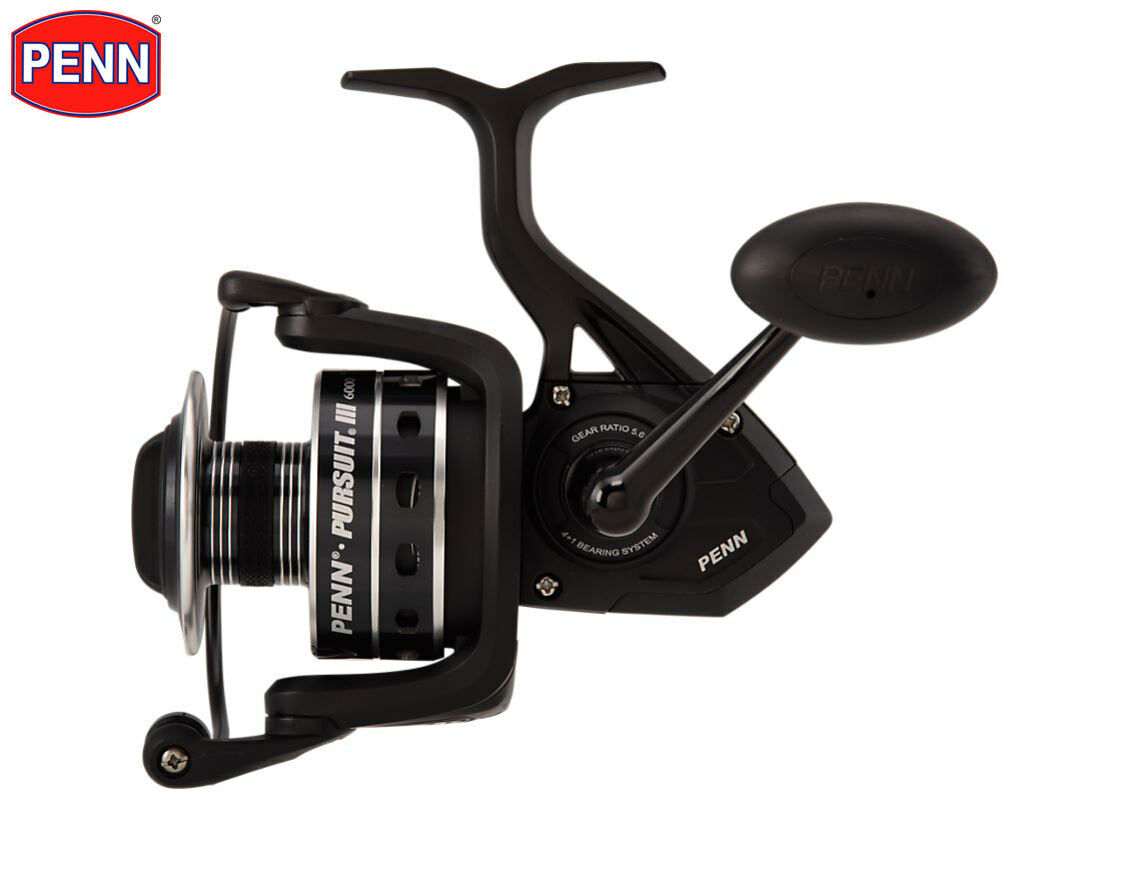 New  Penn Pursuit III 6000 Spinning Fishing Reel  save on clearance