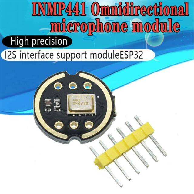 Omnidirectional Microphone Module I2S Interface INMP441 MEMS for ESP32 Low Power