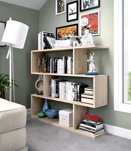Image Is Loading Ciara 3 Tier Open Bookcase Room Divider Display