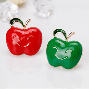 Temperament-Smile-Apple-Brooches-Brooch-Jewelry-Pin-Corsage-Badge-Lapel-Pins-D