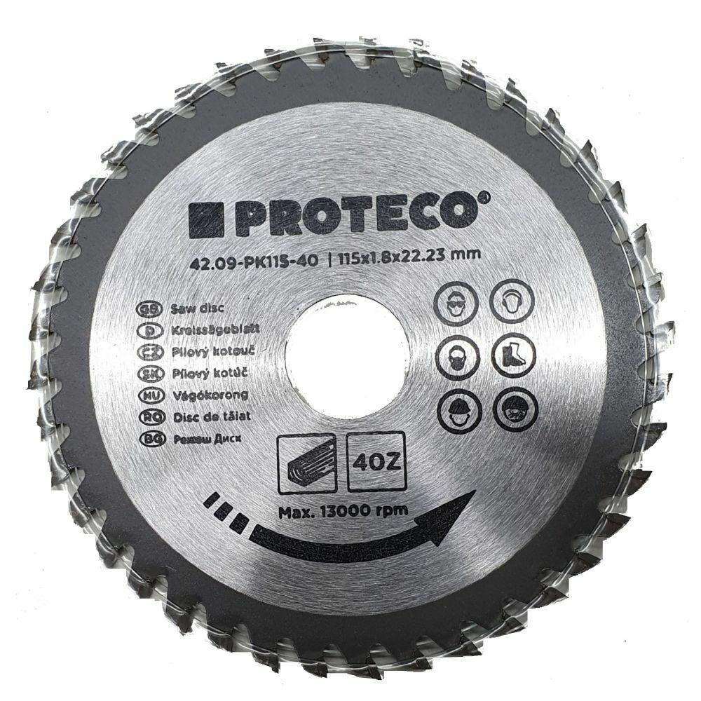 115 mm / 125 mm Circular Saw Blades Wood Saw Cutting Blade Disc 40-Teeth PROTECO