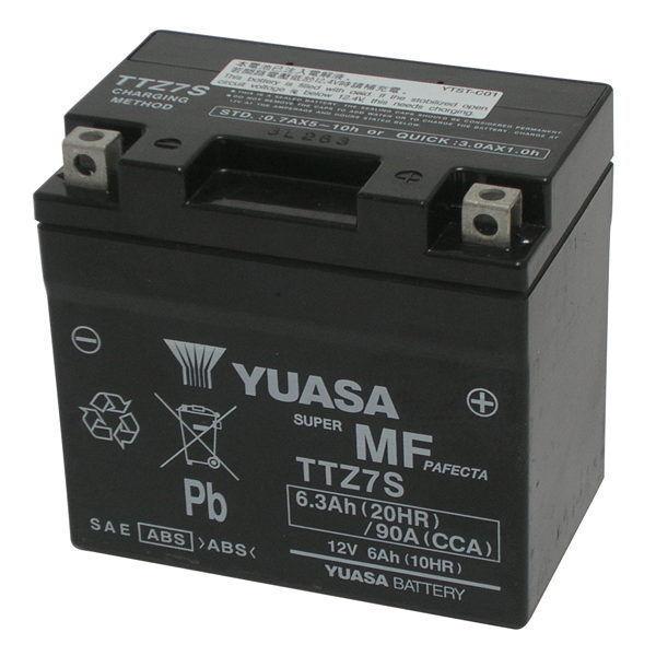 batería original Yuasa TTZ7-S Honda CBR125R CBR 125 R 2004/2010