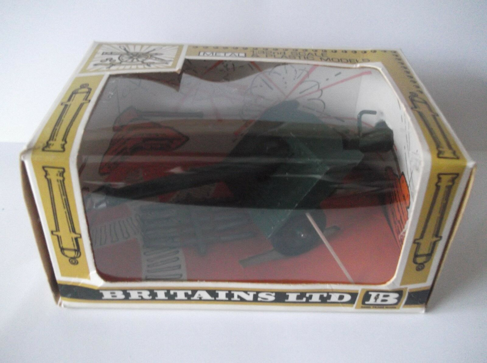 Britains BAT Gun Boxed Ex.Cond. Cat - no 9720