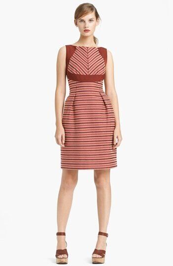 Lida Baday Sleeveless Stripe Jacquard Dress Size 2 2 2 S NEW  1195 SOLD OUT 795ccf