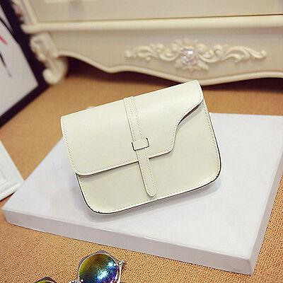 Fashion Womens Girls Shoulder Bag Faux Leather Satchel Crossbody Tote Handbag