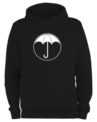 Styletex23 Kapuzenpullover Herren #2 Umbrella Logo Schule Ut Malum Pluvia