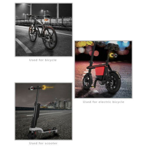 wireless remote control LED Bike Lights Lamps 2 Signal front and 2 rear lights