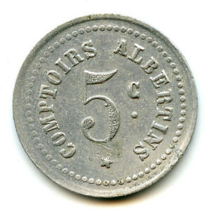 Albert Refrigerated Albertins 5 Cents Non Dated