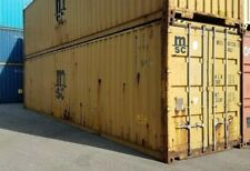 Used 40 High Cube Steel Storage Container Shipping Cargo Conex Seabox Chicago