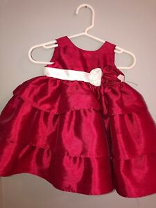 e753f46a0cfc Image is loading Toddler-Girls-Cherokee-Frilly-Dress-Up-Dress-Valentines-