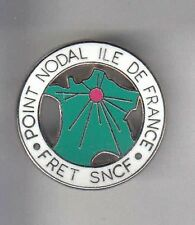 RARE PINS PIN'S .. TRAIN RAILWAYS SNCF FRET POINT NODAL ~AR