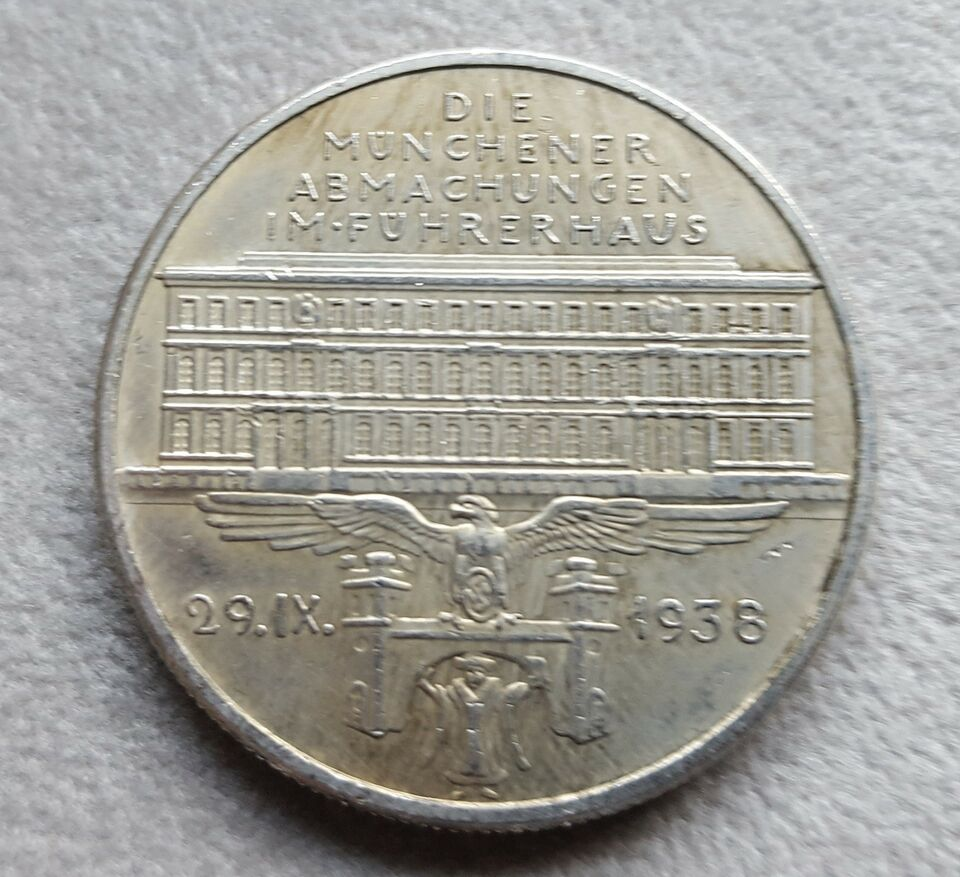 Medalje, Tyskland 1938