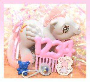 ❤️My Little Pony MLP G1 Vtg Playschool Babies Baby PICTURES UK Euro 1234 COMB❤️