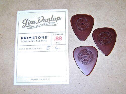 3 Pack Dunlop Primetone  0.88mm Raised Grip Hand Sculpted Guitar Picks ULTEX