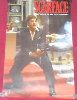 Scarface Poster 22x34 Reproduction Scorpio  Say Hello To My Little Friend