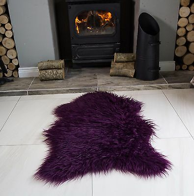 Shaggy Fluffy Sheepskin Rug for Living Room Bedroom House Floor Large & Small
